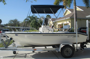 Used Boston Whaler 14 Dauntless Center Console Fishing Boat For Sale