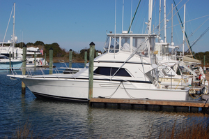 Used Bertram 43 Convertible Saltwater Fishing Boat For Sale