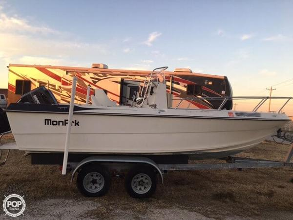 Used Monark 191 CC Center Console Fishing Boat For Sale