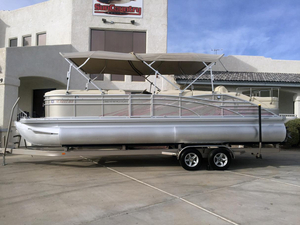 Used Bennington 2575 RCW IO Pontoon Boat For Sale