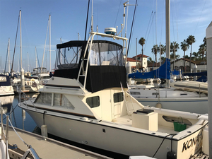 Used Bertram Flybridge Sport Fisher Sports Fishing Boat For Sale