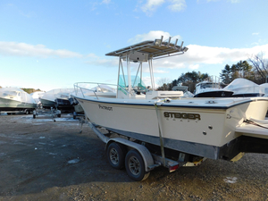 Used Steiger Craft 23 Long Beach DV Center Console Fishing Boat For Sale