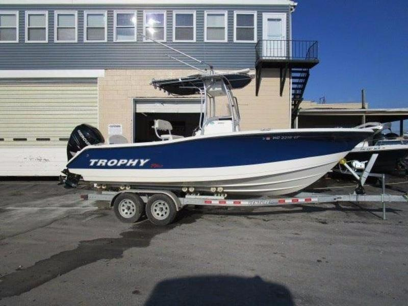 2011 used trophy 2203 cc center console fishing boat for for Used fishing boats for sale in md