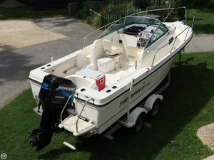 Used Trophy Pro 2002 WA Walkaround Fishing Boat For Sale