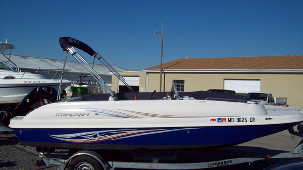 Used Starcraft Limited 2000 OB Deck Boat For Sale