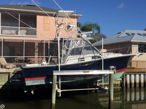 Used Rampage 31 Sportfisherman Sports Fishing Boat For Sale