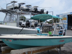 Used Key West 1760 Stealth Bay Boat For Sale