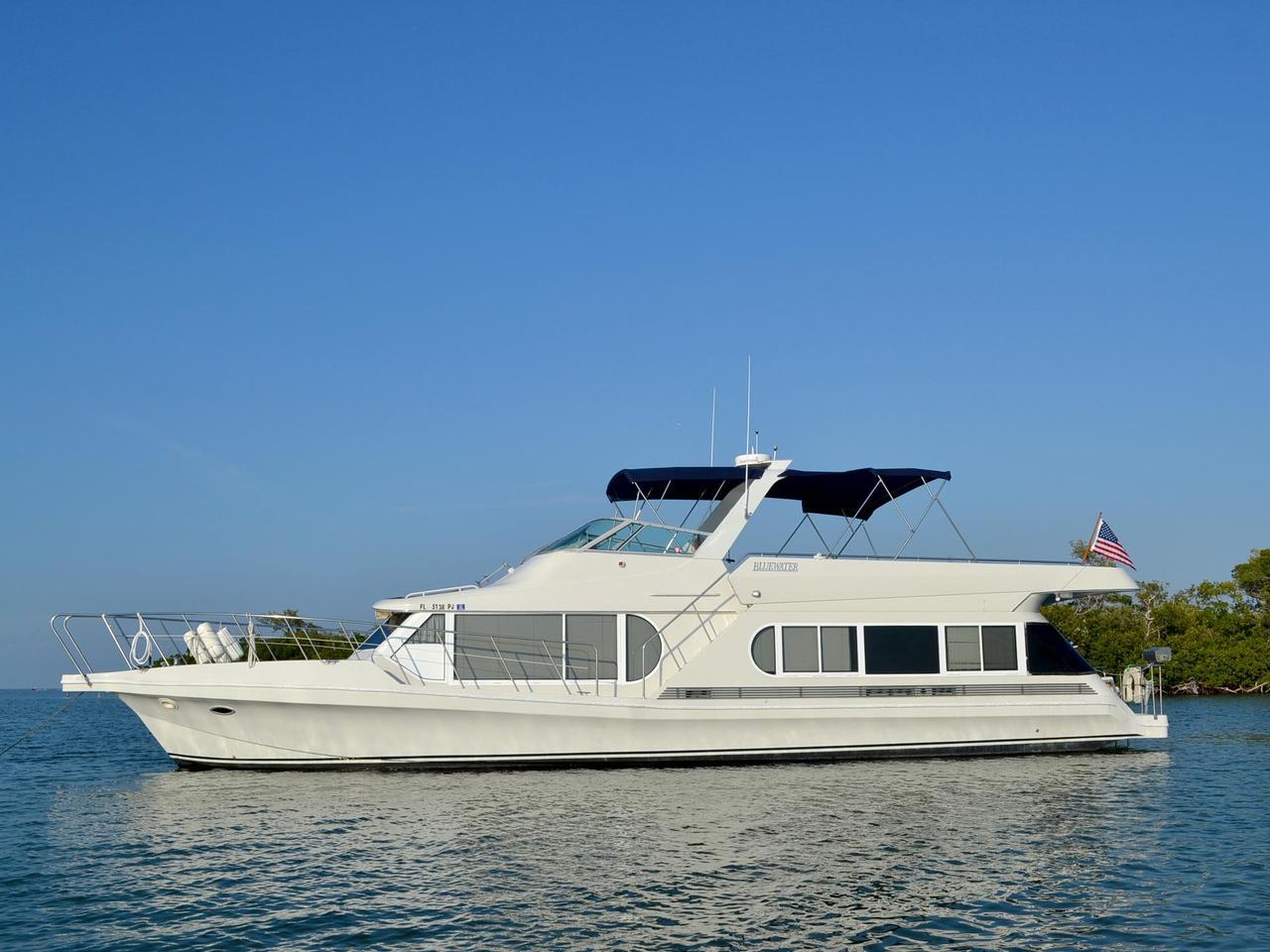 1995 used bluewater coastal cruisercoastal cruiser house boat for sale 159 000 cape coral. Black Bedroom Furniture Sets. Home Design Ideas