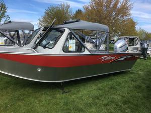 New Weldcraft 20 Angler Aluminum Fishing Boat For Sale