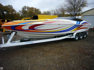 Used Nordic Boats Heat 28 Mid-Cabin High Performance Boat For Sale
