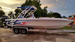 Used Concept Saltwater Fishing Boat For Sale