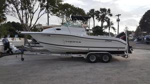 Used Sea Swirl 230 STRIPER Walkaround Fishing Boat For Sale