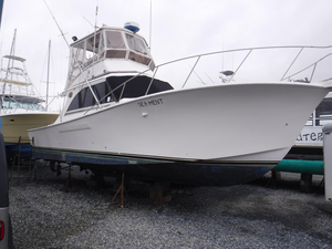 Used Jersey Cape 36 Convertible Fishing Boat For Sale
