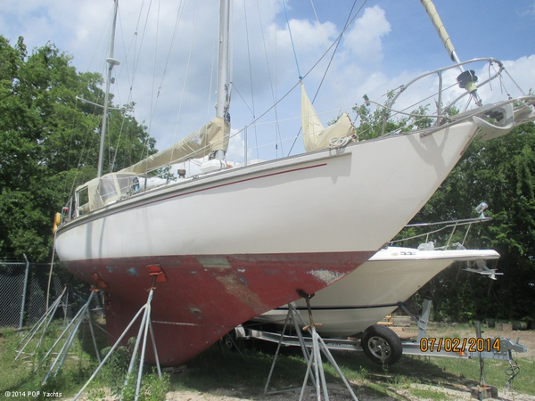 Used Whitby Boat Works 37 Alberg MK II Yawl Cutter Sailboat For Sale