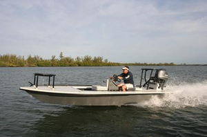 New Maverick Mirage 17 HPX Tunnel Flats Fishing Boat For Sale