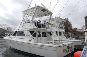 Used Phoenix 34 SFX Convertible Sports Fishing Boat For Sale
