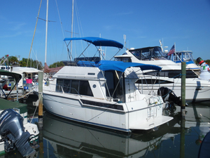 Used Carver 28 Command Bridge Convertible Fishing Boat For Sale