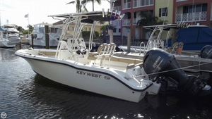 Used Key West 219FS Center Console Fishing Boat For Sale