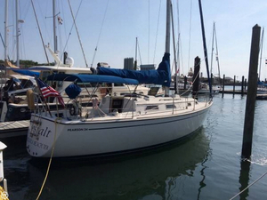 Used Pearson P-34 centerboard Sloop Sailboat For Sale