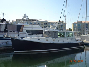 Used Campbell Duffy Downeast Motor Yacht For Sale