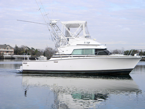 Used Bertram 330 Sportfish Cruiser Boat For Sale