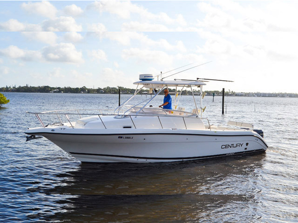 Used Century Cuddy Cabin Boat For Sale