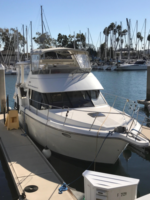Used Carver 33 Motor Yacht Aft Cabin Boat For Sale