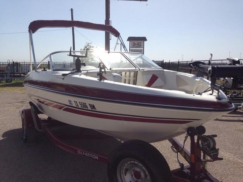 2007 used glastron gt185 fs ski and fish boat for sale for Fish and ski boats for sale