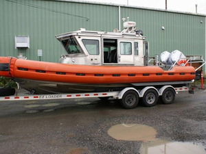 Used Defender Rigid Sports Inflatable Boat For Sale
