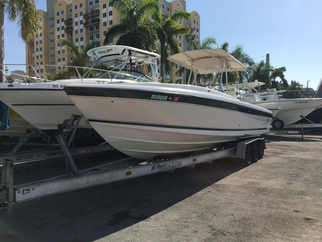 2000 used intrepid 32 center console fishing boat for sale for Used center console fishing boats for sale