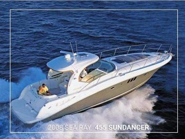 Used Sea Ray 455 Sundancer Motor Yacht For Sale