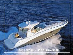 Used Sea Ray 455 Sundancer Motor Yacht For Sale
