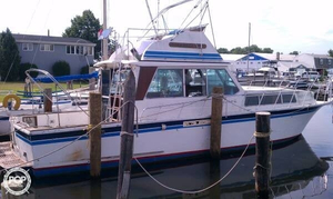 Used Burns Craft 40 Sports Fishing Boat For Sale