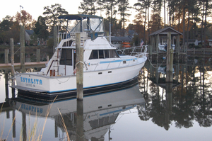 Used Mainship II Lobster Fishing Boat For Sale