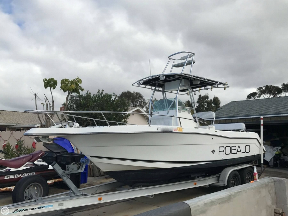 1999 used robalo 2420 center console center console for Center console fishing boats for sale