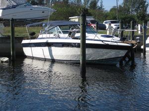 Used Chris Craft 332 Cruiser Boat For Sale