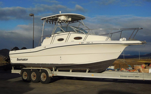 Used Seamaster 2800WA Saltwater Fishing Boat For Sale