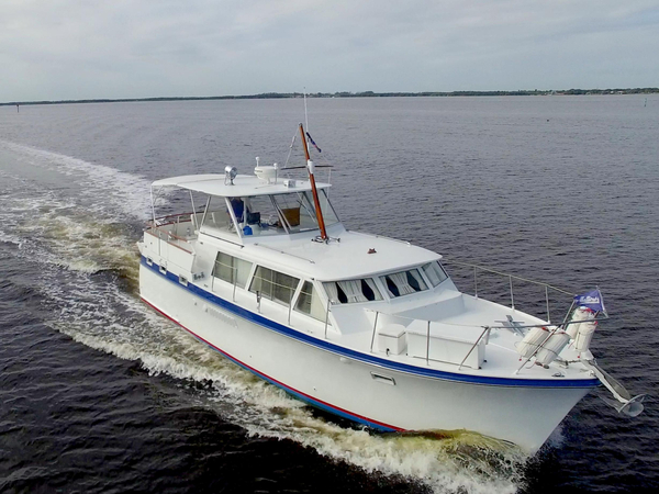 Used Hatteras 41 Twin Cabin Antique and Classic Boat For Sale