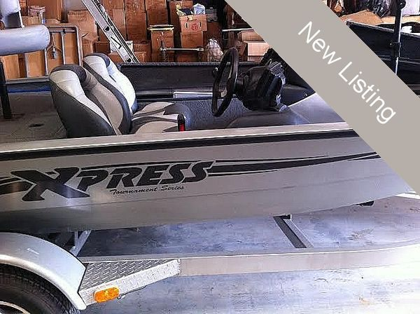 Used Xpress 17 Bass Boat For Sale