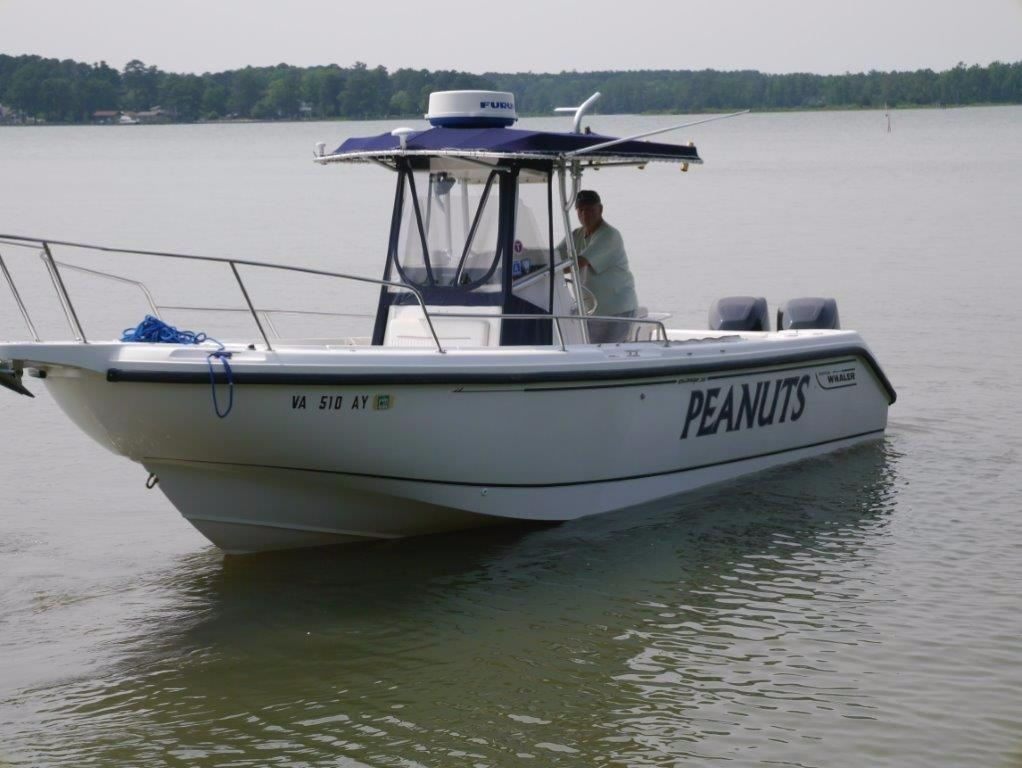 1999 used boston whaler 260 outrage saltwater fishing boat for Offshore fishing boats for sale
