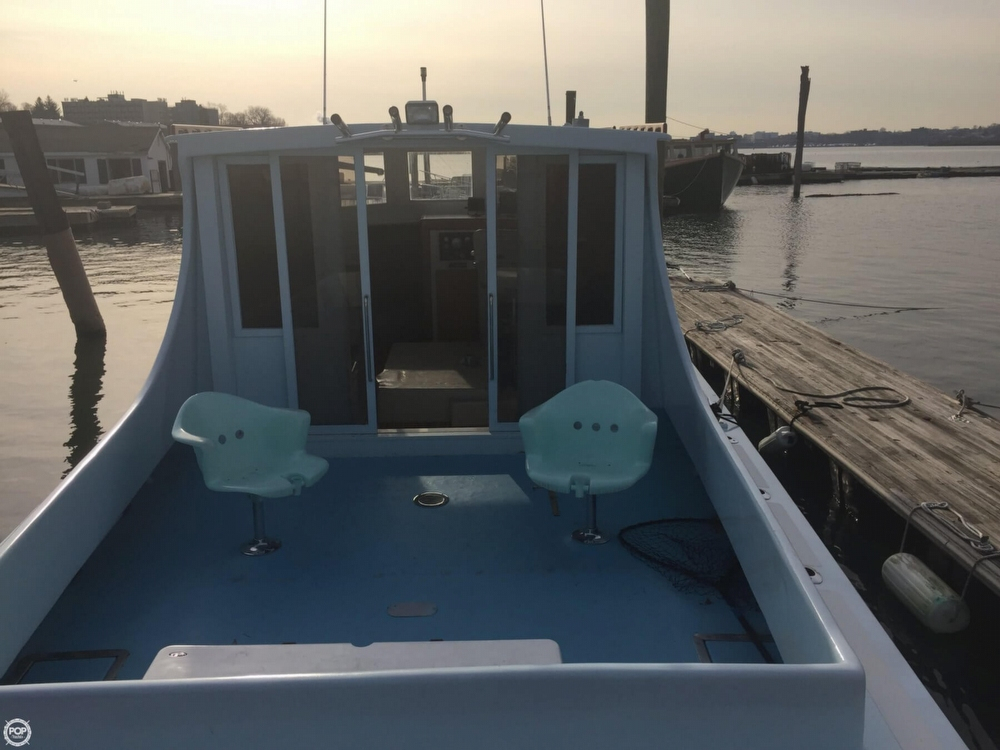 1978 Used Stanley 36 Downeast Fishing Boat For Sale