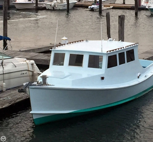 Used Stanley 36 Downeast Fishing Boat For Sale