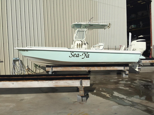 Used Everglades 243 BAY Center Console Fishing Boat For Sale
