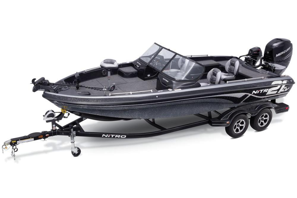 2017 new nitro zv21 z pro package bass boat for sale for Bass fishing boats for sale