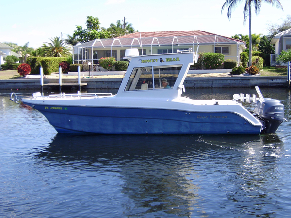 Used Gulf Stream/prokat 25 DC Power Catamaran Boat For Sale