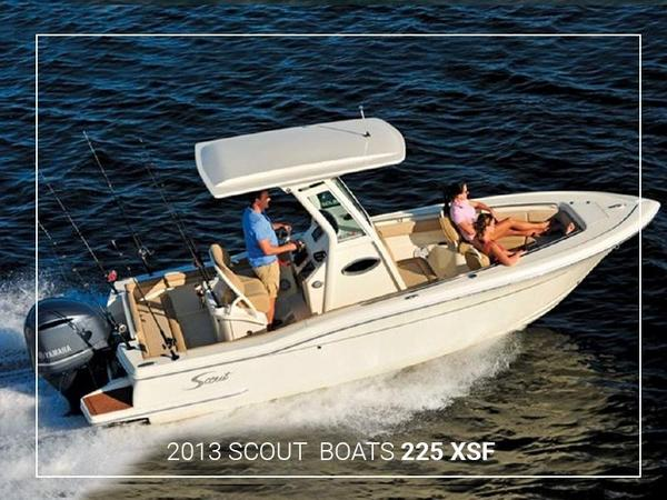 Used Scout Boats 225 XSF Sports Fishing Boat For Sale
