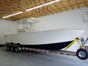 Used Sea Vee 320Z Saltwater Fishing Boat For Sale