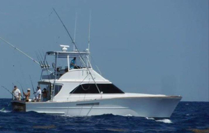 Used Ocean Yachts 44 Highly Custom, Cummins power Convertible Fishing Boat For Sale