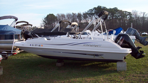 Used Starcraft Limited 2000 OB Fish Deck Boat For Sale