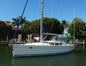 Used Jeanneau 43 Deck Salon Cruiser Sailboat For Sale